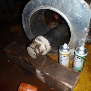 Magnetpulvertesting av bolter